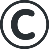 Copyright on Twitter Twemoji 2.2