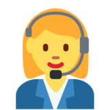 Woman Office Worker on Twitter Twemoji 2.2