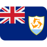 Flag: Anguilla on Twitter Twemoji 2.2