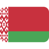 Flag: Belarus on Twitter Twemoji 2.2
