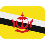 Flag: Brunei on Twitter Twemoji 2.2