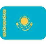 Flag: Kazakhstan on Twitter Twemoji 2.2