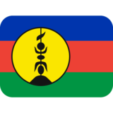 Flag: New Caledonia on Twitter Twemoji 2.2