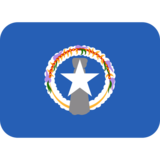 Flag: Northern Mariana Islands on Twitter Twemoji 2.2