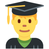 Man Student on Twitter Twemoji 2.2