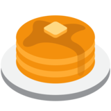 Pancakes on Twitter Twemoji 2.2