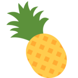 Pineapple on Twitter Twemoji 2.2