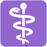 Medical Symbol on Twitter Twemoji 2.2