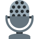 Studio Microphone on Twitter Twemoji 2.2