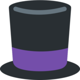Top Hat on Twitter Twemoji 2.2