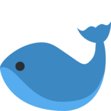 Whale on Twitter Twemoji 2.2