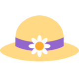 Woman's Hat on Twitter Twemoji 2.2