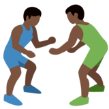 Wrestlers, Type-6 on Twitter Twemoji 2.2