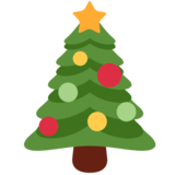 Christmas Tree on Twitter Twemoji 2.2.1