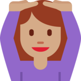 Person Gesturing OK: Medium Skin Tone on Twitter Twemoji 2.2.1