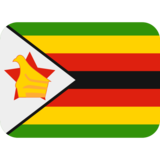 Flag: Zimbabwe on Twitter Twemoji 2.2.1