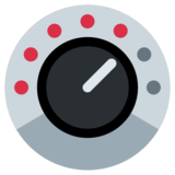 Control Knobs on Twitter Twemoji 2.2.3