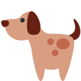 Dog on Twitter Twemoji 2.2.3
