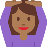 Person Gesturing OK: Medium-Dark Skin Tone on Twitter Twemoji 2.2.3