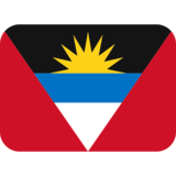 Flag: Antigua & Barbuda on Twitter Twemoji 2.2.3