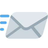 Incoming Envelope on Twitter Twemoji 2.2.3
