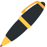 Pen on Twitter Twemoji 2.2.3