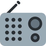 Radio on Twitter Twemoji 2.2.3