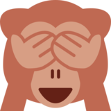 See-No-Evil Monkey on Twitter Twemoji 2.2.3