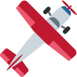 Small Airplane on Twitter Twemoji 2.2.3