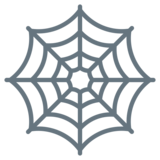 Spider Web on Twitter Twemoji 2.2.3