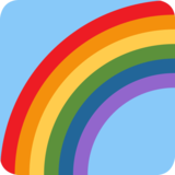 Rainbow on Twitter Twemoji 2.2.2