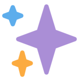 Sparkles on Twitter Twemoji 2.2.2