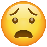 Anguished Face on WhatsApp 2.19.244
