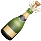 Bottle With Popping Cork on WhatsApp 2.19.244