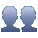 Busts in Silhouette on WhatsApp 2.19.244