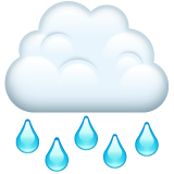 Cloud with Rain on WhatsApp 2.19.244
