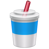 Cup With Straw on WhatsApp 2.19.244