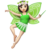 Fairy: Light Skin Tone on WhatsApp 2.19.244