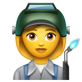 Woman Factory Worker on WhatsApp 2.19.244