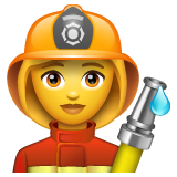 Woman Firefighter on WhatsApp 2.19.244