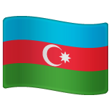 Flag: Azerbaijan on WhatsApp 2.19.244