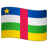 Flag: Central African Republic on WhatsApp 2.19.244