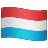 Flag: Luxembourg on WhatsApp 2.19.244