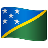 Flag: Solomon Islands on WhatsApp 2.19.244