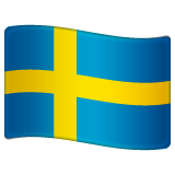 Flag: Sweden on WhatsApp 2.19.244