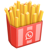 French Fries on WhatsApp 2.19.244