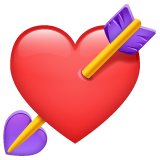 Heart With Arrow on WhatsApp 2.19.244