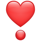 Heart Exclamation on WhatsApp 2.19.244