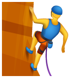 Man Climbing on WhatsApp 2.19.244