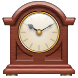 Mantelpiece Clock on WhatsApp 2.19.244
